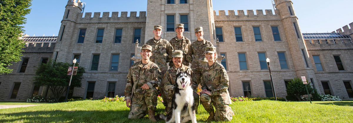 Department of Military Science - NIU - College of Health and